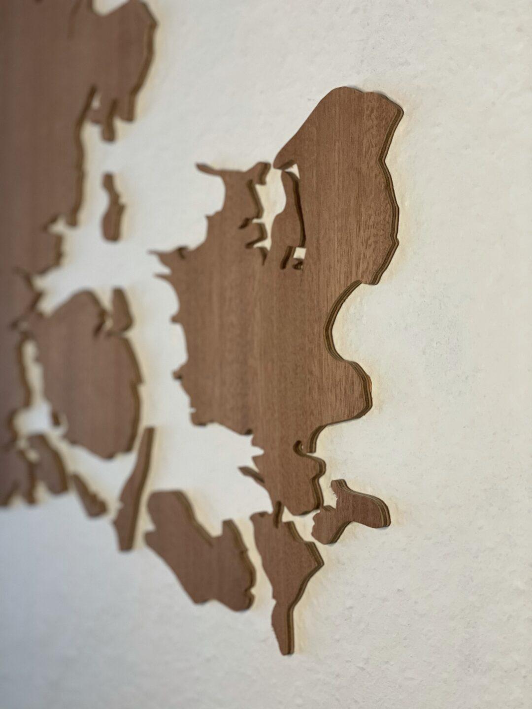 verdenskort træ