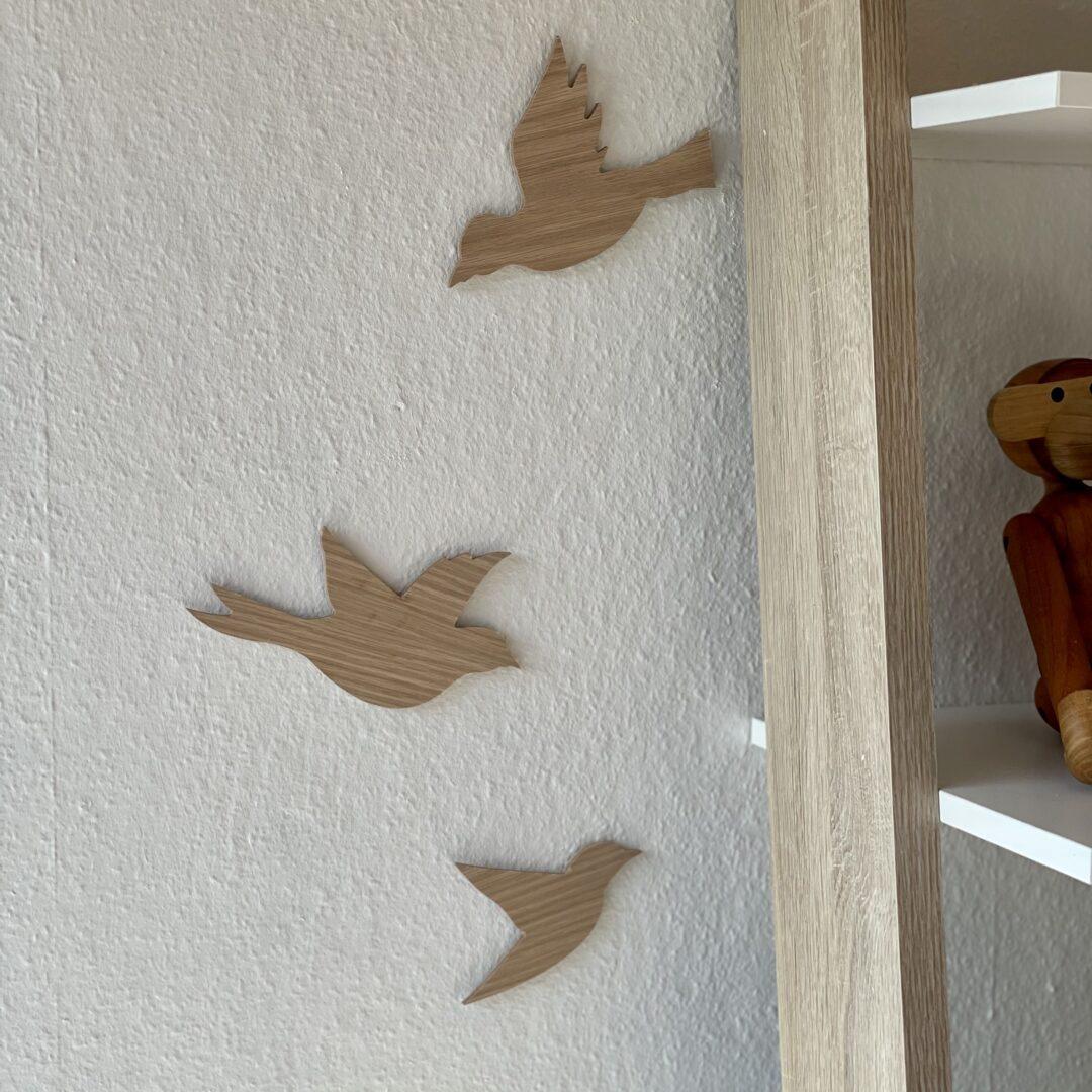 fugle dekoration egetræ
