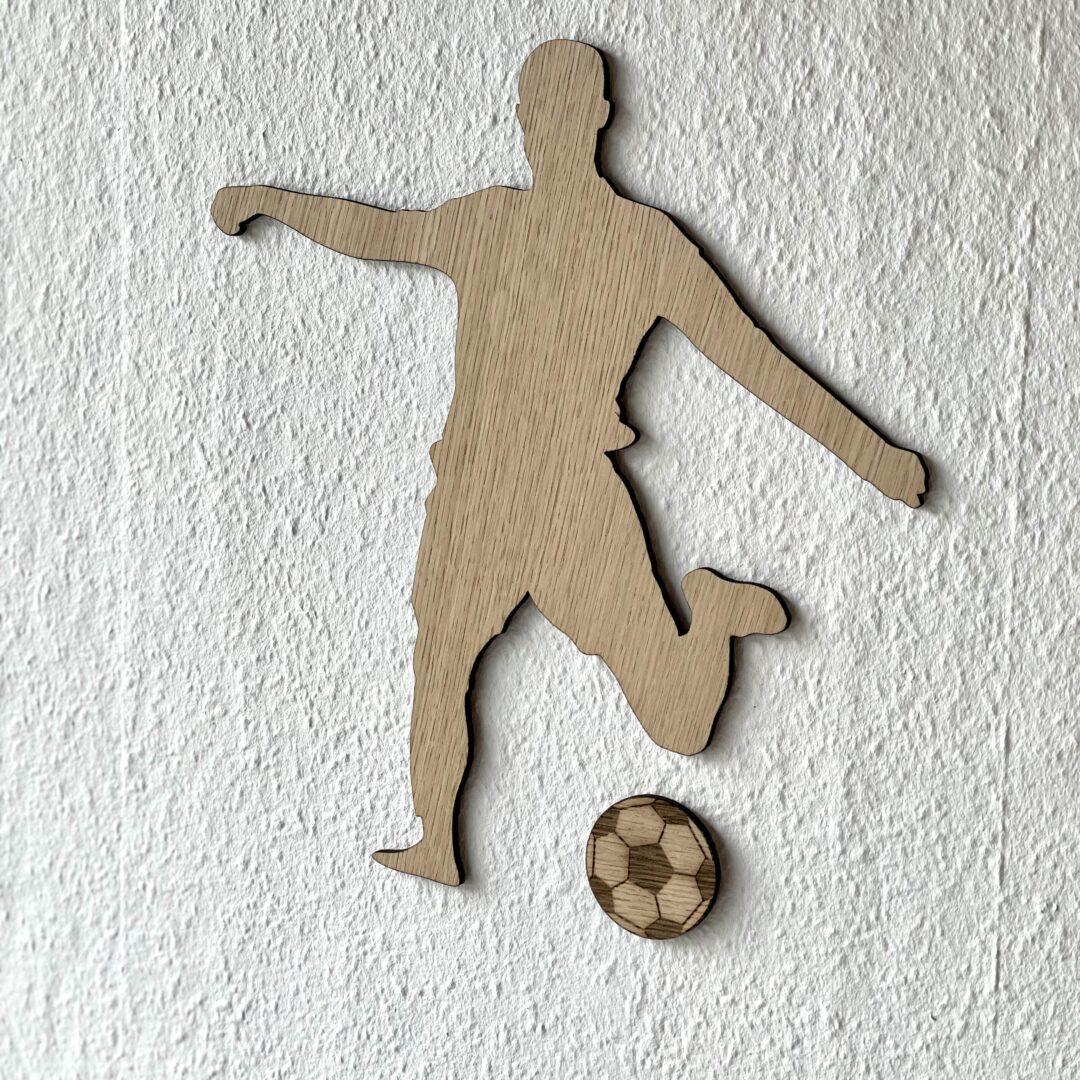 fodboldspiller egetræ
