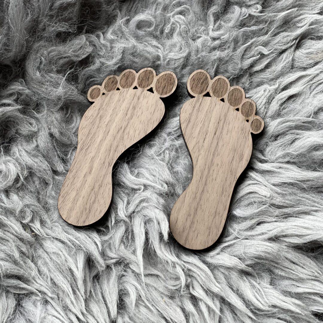 fødder valnød